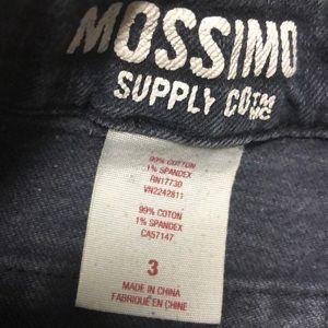 Mossimo Supply Co. Shorts - Dark blue denim Mossimo High rose shorts